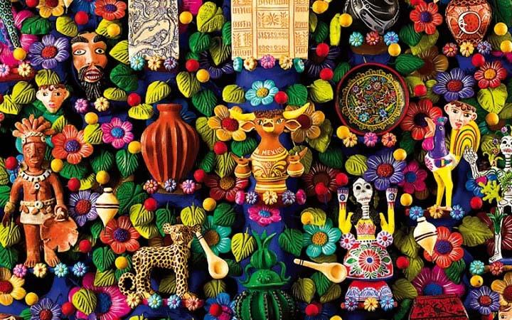 Obras de Arte Popular Llega Muestra de Arte Popular